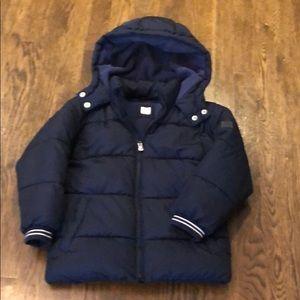 Gap puff coat